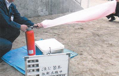 消防設備は定期点検で安心